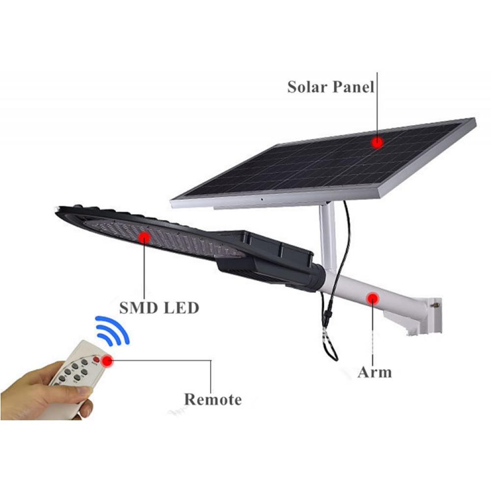 Уличный светодиодный фонарь на солнечных батареях SSL-30W4