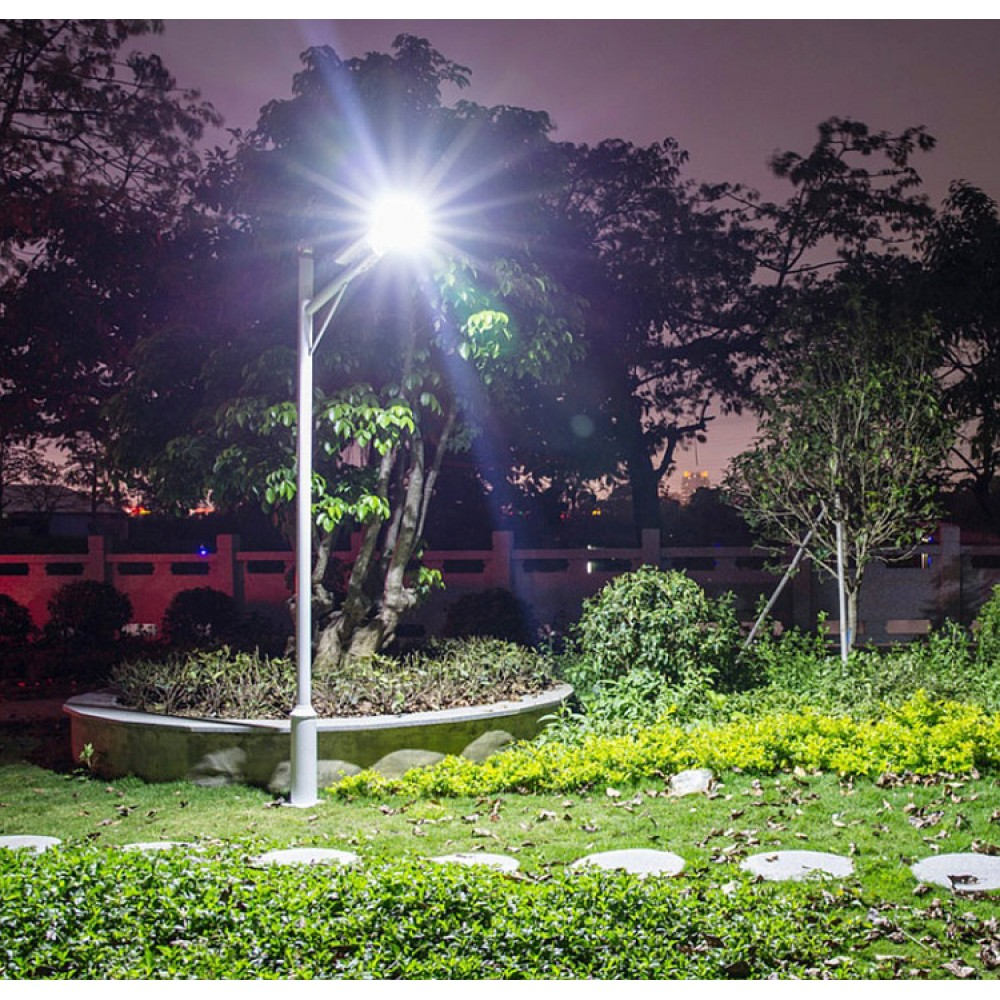 Уличный светодиодный фонарь на солнечных батареях AIO4-150W