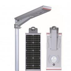 Уличный светодиодный фонарь на солнечных батареях AIO3-50W