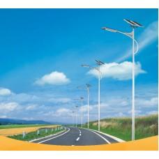 Уличный светодиодный фонарь на солнечных батареях AN-SSL-30w/100w/5m