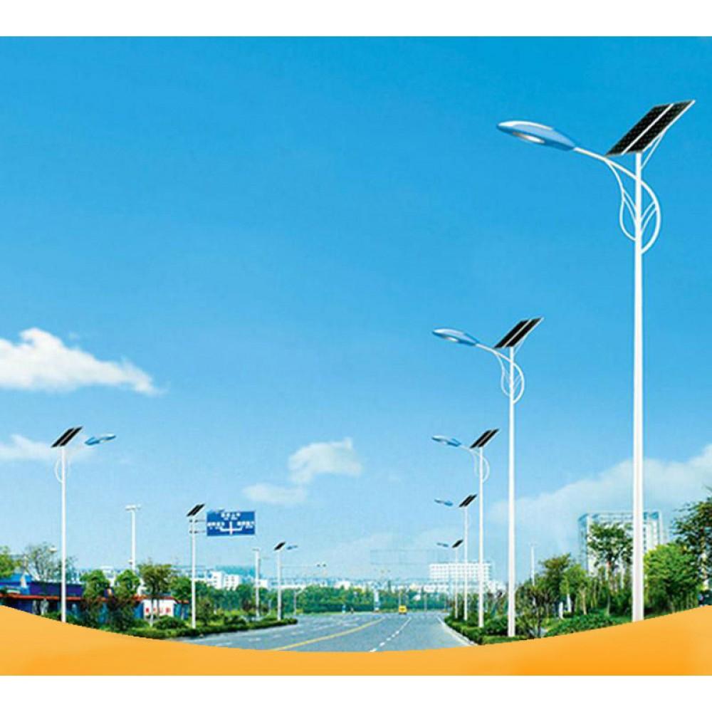 Уличный светодиодный фонарь на солнечных батареях AN-SSL-80w/280w/8m