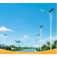 Уличный светодиодный фонарь на солнечных батареях AN-SSL-60w/240w/8m