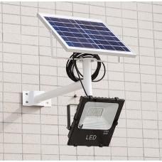 Светодиодный прожектор на солнечной батарее LXB-SFL-120W
