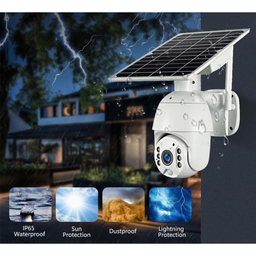 4G CCTV камера видеонаблюдения на солнечной батарее SC-4G-0974