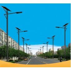 Уличный светодиодный фонарь на солнечных батареях AN-SSL-40w/160w/6m