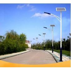 Уличный светодиодный фонарь на солнечных батареях AN-SSL-20w/70w/4m