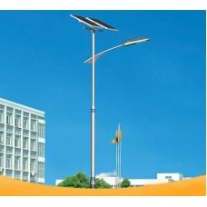 Уличный светодиодный фонарь на солнечных батареях AN-SSL-70w/240w/8m