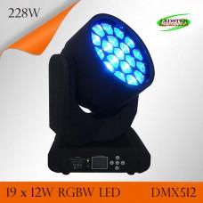Светодиодный прожектор для освещения сцены CREE Bee - Eye 19x12W (SL-SX-MH1912)